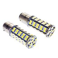 1142 3.5W 6000-6500K 250LM 68x3528SMD LED bombillas blancas para el coche (12V)