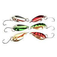 Gancho de pesca Especialmente para Weever con señuelo colorido (2,5 g, color ramdon)