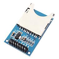 Moduł przechowywania kart SD Płyta pisania czytania (obsługuje SDIO i SPI)