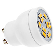 GU10 3W 9 SMD 5630 270 LM Warm White MR11 LED Spotlight AC 220-240 V