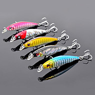 Trulinoya duro Mini-Bait Pequeño 55mm/2.5g/0.5m Minnow Fishing Lure