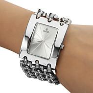 Men's Analog Quartz White Face Silver Steel Band Bracelet Watch (Silver) Cool Watches Unique Watches Fashion Watch