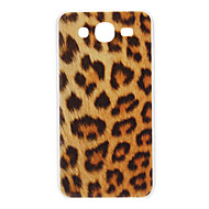 Brown Leopard Pattern Hard Case for Samsung Galaxy Mega 5,8 I9152