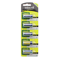 Mincell Disposable 55mAh 23A / L1028 12V Alkaline Batteries (5 PCS)