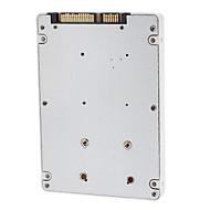 SATA 2.5 Mand til mSATA Male 9.5mm Hard-disk Cartridge