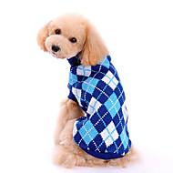 Invierno - Azul Tejido de lana - Suéteres - Perros - XS / M / XL / S / L
