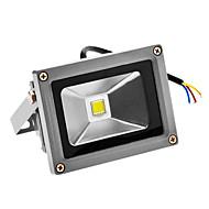 10W 720-800LM 6000-6500Kクールホワイト光はセンサーの洪水ライト(100-240V)のLED