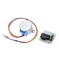 DC 5V 4 fázisú 5 vezetékes léptetőmotor + driver board teszt modul (az Arduino)