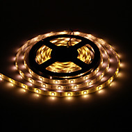 Vandtæt 5M 30W 30x5050SMD 1500-1800LM 2800 3200K varmt hvidt lys LED Strip Light (DC12V)