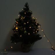 10M 100-LED Lila / Warm White Light LED Strip Lamp (220V)