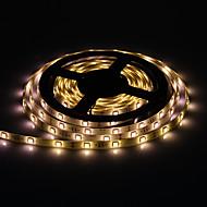 Vandtæt 5M 30W 30x5050SMD 1500-1800LM 2800 3200K Warm White Light LED Strip Light med 12V 3A Adapter
