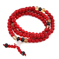 (1 Pc) Vintage  7Cm Women'S Multicolor  Agate  Wrap Bracelet(Red,Blue And More)