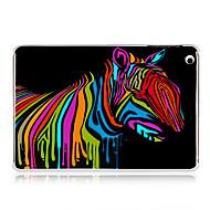 Colorful Oil Painting Zebra Plastic Back Case for iPad mini 3, iPad mini 2, iPad mini
