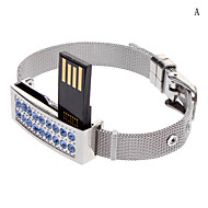 Bello braccialetto di diamanti Flash Drive 32G