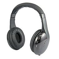 auricular inalámbrico de 2,4 GHz sobre el control de audio oreja 5 en 1 de alta fidelidad con radio FM para mp4 / pc / media player / tablet