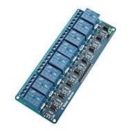 8-kanaals relaismodule raad w / optocoupler isolatie (werkt met officiële (voor Arduino) boards)