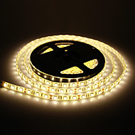 Vandtæt 5M 60W 60x5050SMD 3000-3600LM 2800 3200K varmt hvidt lys LED Strip Light (DC12V)