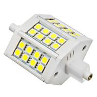 R7S 5W 24x5050SMD 6000K הנורה מגניב אור LED לבן תירס (85-265V)