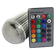 E26/E27 9 W 1 420 LM RGB Remote-Controlled AC 85-265 V