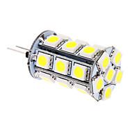 5W G4 LED a pannocchia T 24 SMD 5050 370 lm Luce fredda DC 12 V