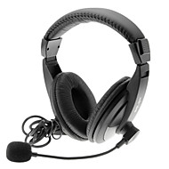 SALAR A17 Buena Calidad estéreo de auriculares con micrófono para PC, Laptop