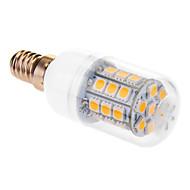 E14 6w 31x5050smd 510lm 2500-3500k 따뜻한 하얀 빛 옥수수 LED 전구 (220-240V)