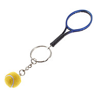 Key Chain Baseball Classic & Timeless Key Chain Blue / Yellow Plastic