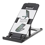 Five Slopes Available Designed Mini Foldable Universal Stand for iPhone and Others (Assorted Colors)