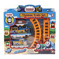 Thomas vlakové koleje kutilství elektrické železniční vozy pro děti vzdělávací model, sestavený ozdobný hračky