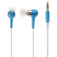 Super-Bass Stereo In-ear hovedtelefoner med mikrofon til MP3, MP4, mobiltelefon, iPhone, Samsung