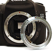 Olympus OM Lens to Canon EOS EF Mount  Adapter with electronic/focus infinity 60D 50D 40D 600D 550D 500D 450D 1100D