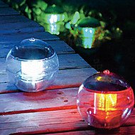 Solar Power värinvaihto LED Floating Light Ball järvi lampi Pool Lamppu (CIS-57230)