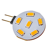 G4 2.5 W 6 SMD 5730 120-150 LM Warm White / Cool White Spot Lights DC 12 / AC 12 V