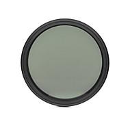 fotga® 62mm schlank Fader ND-Filter variabel einstellbar Neutraldichte ND2 zu ND400