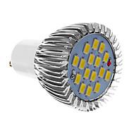 GU10 6W 16x5730SMD 640LM 6000K холодный белый свет Светодиодные пятно реветь (85-265В)