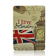National Flag PU Leather Case with Stand for iPad Air