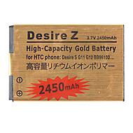 Batterie 2450mAh de téléphone portable pour Incredible G11 G12 G7 S510 S530 G520 de HTC Desire