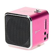 Digital Speaker med SD, TF, USB, FM Understøttet (Pink, Blå)