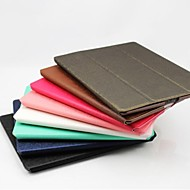 Special Design Style 4 Fold Leather Case & Stand for iPad 2/3/4