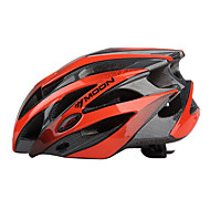 MOON vélo Noir + Orange PC / EPS 21 Vents de protection Casque tour