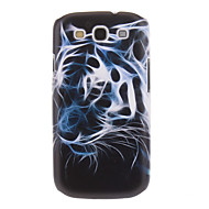 Phantom Tiger Painting Pattern Plastic Hard Back Case Cover for Samsung Galaxy S3 I9300
