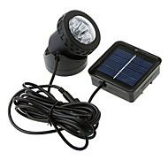 Rezistent la apa Solar Powered Spotlight 6-LED-uri Grădină Outdoor Flood Lamp (CIS-57157)