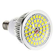 Faretti LED 48 SMD 2835 E14 / E26/E27 6W Intensità regolabile LM Bianco caldo / Luce fredda AC 220-240 V