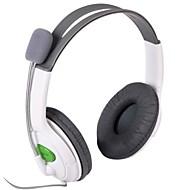 Elegante Stereo Headset Headphone para XBOX 360 - Branco (2,5 mm Plug / 100cm)