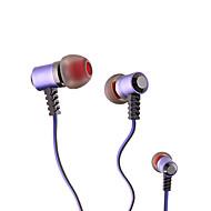 Headphone In-ouvido com microfone (cores sortidas)