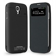 3200mAh Clip-On Mobile Power skyddande skal Hölster till Samsung Galaxy S4 l9500
