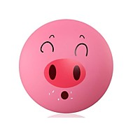 DIY Cartoon Pig Wallpaper And Wall Decoration Design Lampshade Warm Pink Light LED Night Light
