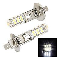 Merdia  H1  25 x SMD 3528 LED White Light  for Car Brake Light / Fog  Light(2 PCS)