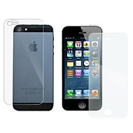 Dva komada Prepuna Silver Diamond zaštitnu foliju s installtion Alati za iPhone 5/5S