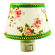 10W Green Flower Cloth LED Night Light(AC110-240V)